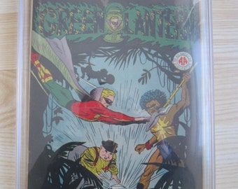 Green Lantern #16 - CGC 8.0 - 1945 and 3rd highest graded