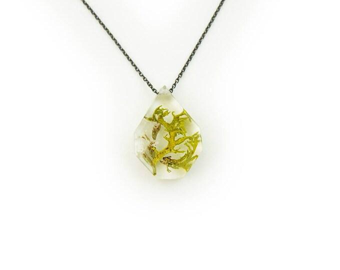 Flower Terrarium Necklace