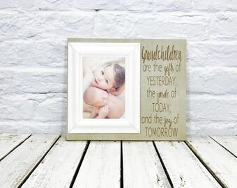 Personalized Grandparents Gift with Grandkids Frame, Grandparents Gift, Gift from grandkids, grandma Gift, Grandpa Gift, Personalized Frame