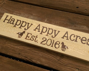 Your Own Custom Sign: Personalized Farm, Horses, Goats, Etc.