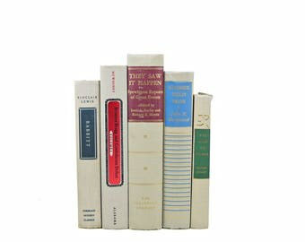 Platinum Gray BOoks, Decorative Books, WEdding Decor Centerpiece,Grey BOok Decor, Books for Color, Beige Old Books, Home Interior Design