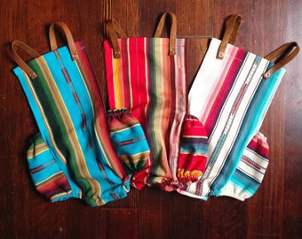 Serape Baby Romper, Mexican Blanket