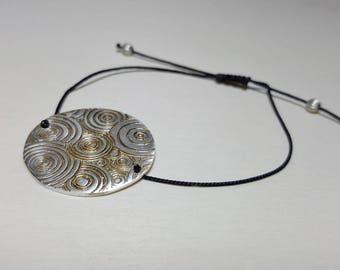Everyday Bracelet, Layering Bracelet, Disc Bracelet, Everyday Bracelet for Women, Stacking Bracelet Simple, Layering Bracelet Women
