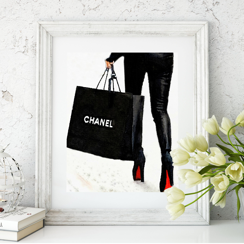 Coco Chanel Chanel Shopping Bag Louboutins Chanel Art