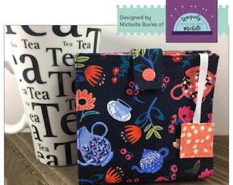 Tea Time Tea Wallet PDF Pattern