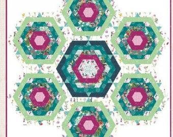 """Art Gallery Fabrics Azalea Quilt Kit 66"""" x 73"""""""