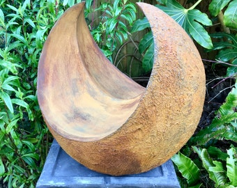 Curvation-rusted iron, Sculpture abstract, Garden sculpture, Indoor sculpture, abstract sculpture, modern sculpture, garden art