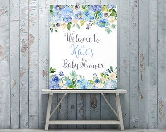 Baby Shower Decorations, Customized, Baby Shower Sign, Personalized, Welcome Sign, Baby Shower Printables, Poster, Banner, Custom Sign