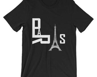 Paris Tshirt, Paris City Shirt, Paris France Tshirt, France Paris, Europe Cities, Eiffel Tower Shirt, Paris Letters