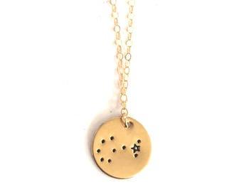 Scorpio, Scorpio Necklace, Constellation Necklace, Zodiac Necklace