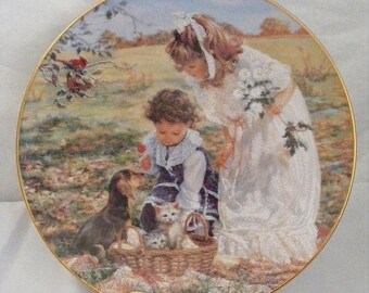 Store Wide Sale RECO Decorative Plates  Sisters, Moments of Reflection,  Best Friends,  Delightful Bundle,  Loving Touch