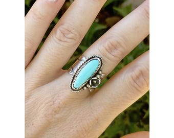 Royston Turquoise & Sterling Ring