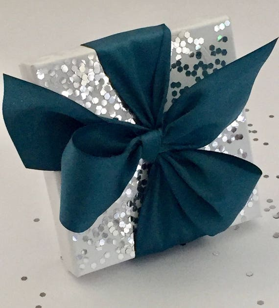 Glitter Box - Wedding Favor - Party Favor - Sparkle - Ornament Box - Dinner Party Favor - Christmas Favor Box - Wedding Favor Box - Glitter
