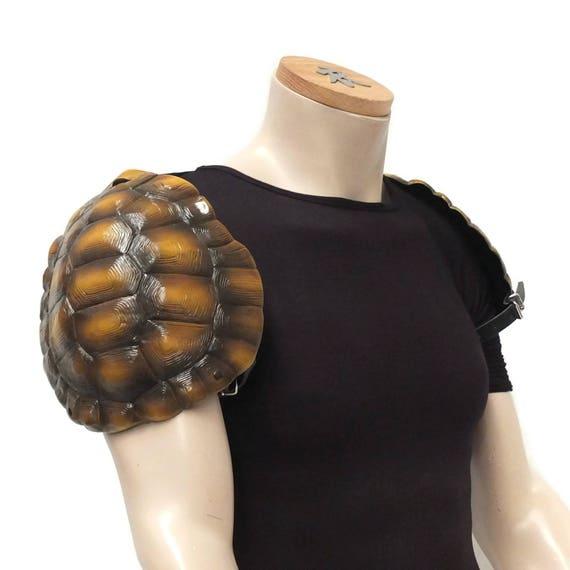Larp Armor Tortoise Pauldrons, spaudlers, spalders, spaulders, shoulder, SCA