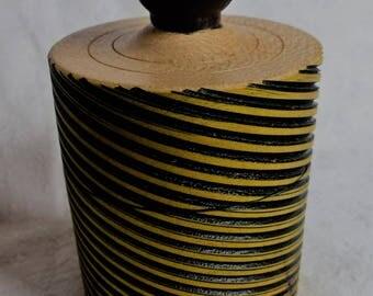 Spiral Sycamore Ring/Trinket Box