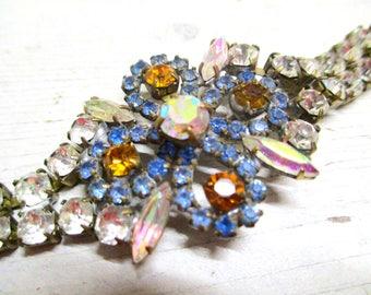 Gorgeous rhinestone bracelet flowerdream