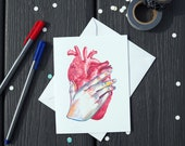 Heart Card | Paper | Art ...