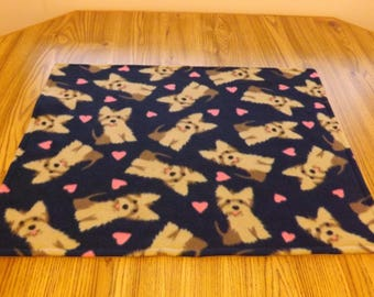 Dog Blanket, Small, Yorkies