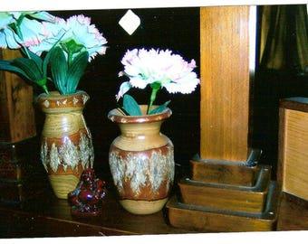 Sassafras vases