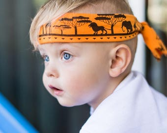 Warrior Headband, Boy band, boy headband, headband for boys, baby boy headband, mens headband, Ninja headband