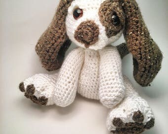 Dog stuffed animal. Stuffed Dog- Stuffed Animal Dog- Crochet Dog Plushie
