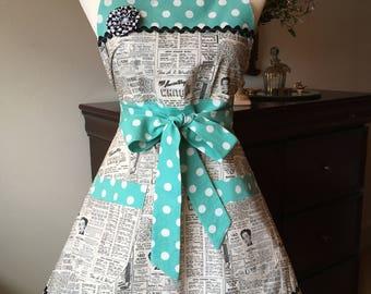 Messime vintage style apron