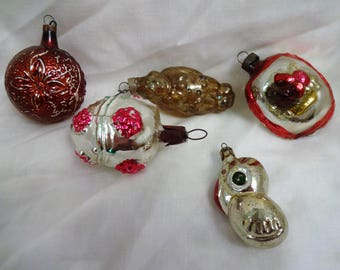 Christmas Antique Glass Ornaments