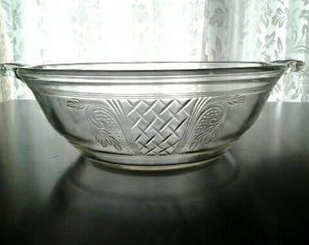 Vintage Pyrex Baking Serving Dish Clear