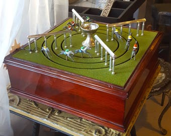 Petits Chevaux Game, Horse Race Game, Mechanical Horse Race