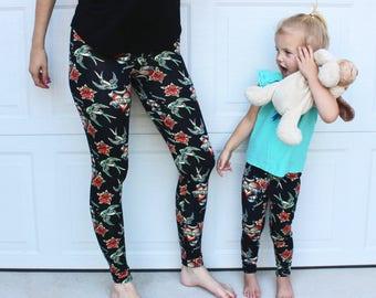 CUSTOM Mommy + Me Leggings *READ DESCRIPTION!*