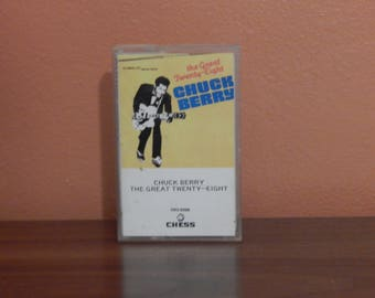 Chuck Berry - The Great 28 -  cassette tape