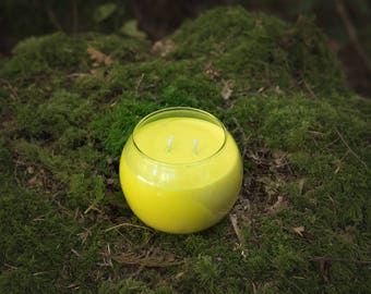 Certified Redneck Citronella Globe Soy Candle