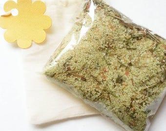 Himalayan salt Lemongrass & Lime bath soak, bath tea, bath salts, essential oils, herbal bath soak, himalayan salts, relaxing bath soak,