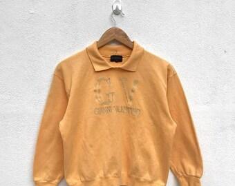20% OFF Vintage Gianni Valentino Women Sweater/Gianni Valentino Sweatshirt/Gianni Valentino Spell Out/Gianni Valentino Embroidery Logo