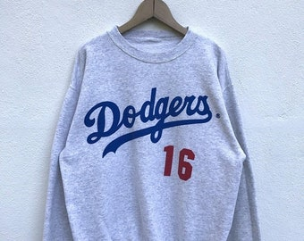20% OFF Vintage Dodgers 16 Nomo Player Sweatshirt / Dodgers Los Angeles / Dodgers 90s Jacket / Dodgers Sweater