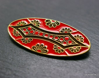 art deco brooch, brooch