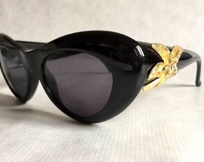 Gianni Versace 376 / D - RH Col 852 BK Vintage Sunglasses New Unworn Deadstock