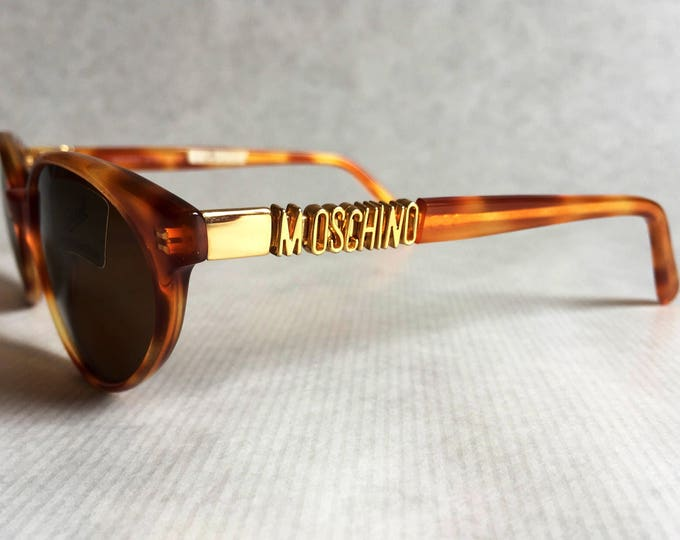Moschino by Persol MF723 Vintage Sunglasses - New Unworn Deadstock with Case