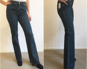 FIORUCCI jeans a zampa da stock, Jeans Fiorucci a zampa, Jeans Fiorucci a zampa da stock taglia 28, Fiorucci jeans a zampa millenials