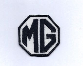 Vintage MG Car Patch