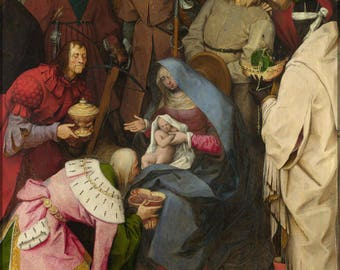 Poster, Many Sizes Available; Adoration Of The Kings By Pieter Bruegel The Elder