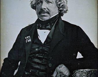 Poster, Many Sizes Available; Louis Daguerre Daguerreotype Of  In 1844 By Jean-Baptiste Sabatier-Blot