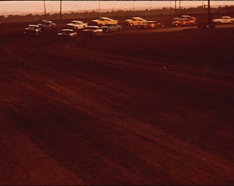 Poster, Many Sizes Available; Albuquerque Speedway Park, One Of Three Stock Car Race Tracks Nara 545360