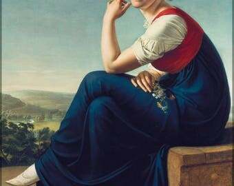 Poster, Many Sizes Available; Portrait Of Heinrike Dannecker Christian Gottlieb Schick