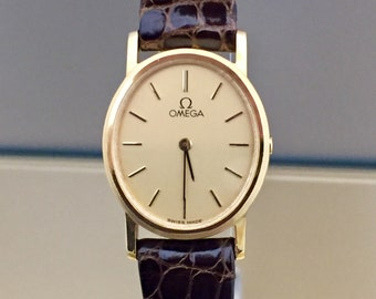 Vintage OMEGA Lady Watch in 18kt solid gold