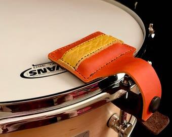 Custom Handmade Leather Snare Drum Damper