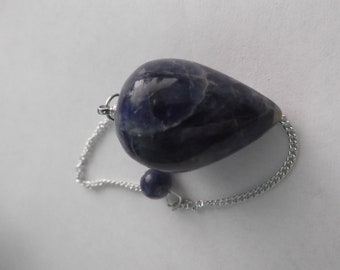 Lapis Lazuli Crystal Pendulum,Royal stone,Healers,Psychic protection,Spiritual growth,divination,Intuition,Truth,protection,wisdom,wicca