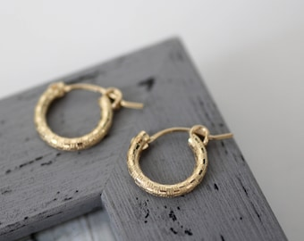 Small gold hoops, Tiny gold hoop earrings, gold filled hoop earrings, small hoop earrings, everyday earrings, earrings small, tiny hoops