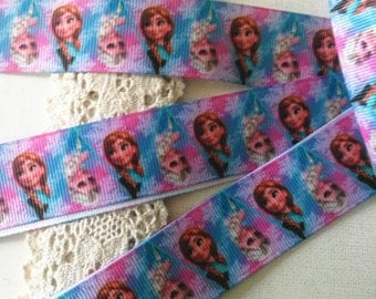 Frozen (by the yard) 25mm Ribbon