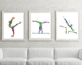 Gymnastics Gift,Gymnast Poster,teen Gift ,Gymnastics Wall Art, Gymnastic  Printable,